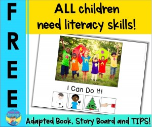a picture of the free adapted book you get with sign-up
