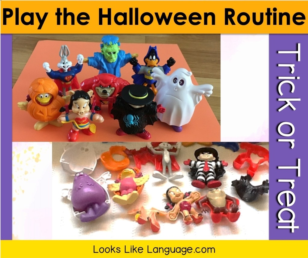 Halloween costume toys from McDonalds