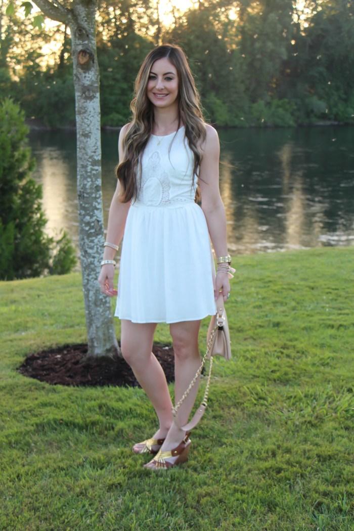 Little White Dress by Socialite