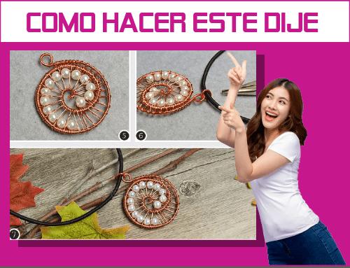 como hacer dijes handmade jewelry necklace