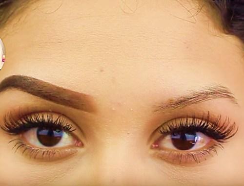 video maquillaje cejas perfectas tutorial bisuteria