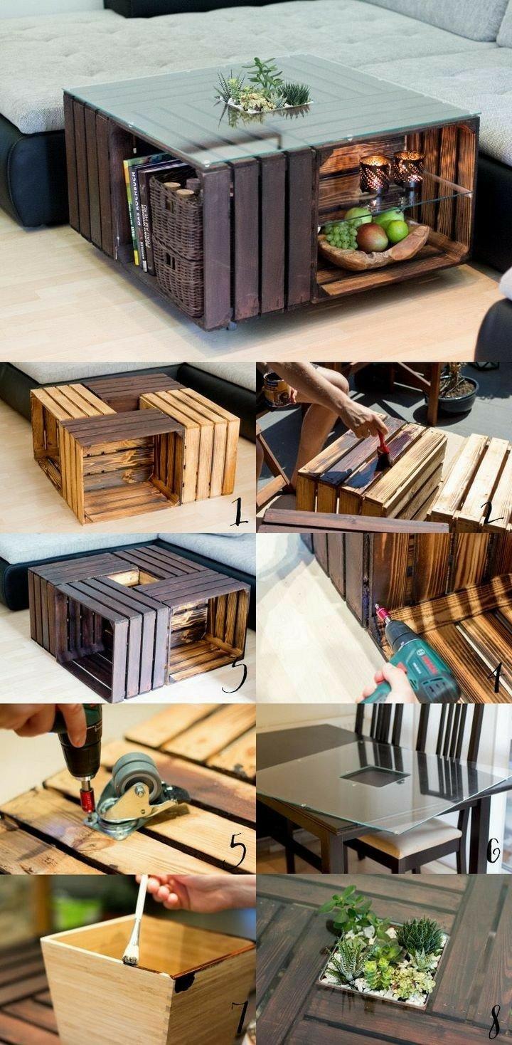 Mesa table madera wood diy