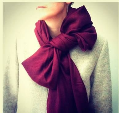 como amarrar bufanda
