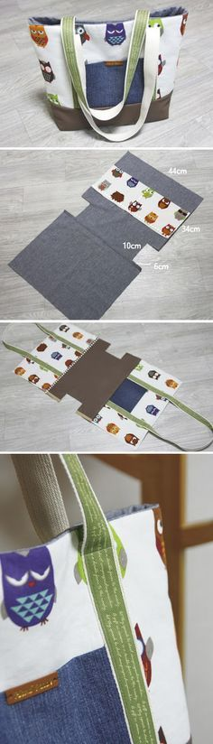 patron bolso cartera pattern bag