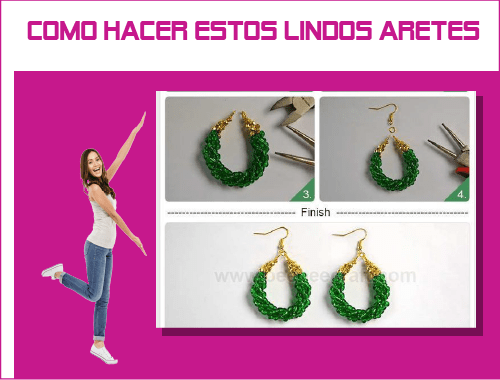 como hacer aretes how to make earrings jewelry handmade making supplies