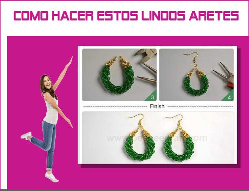 como hacer aretes how to make earrings jewelry handmade making supplies