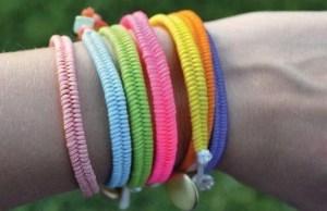 pulseras macrame colores bracelets bisuteria jewelry