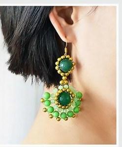 aretes earrings bisuteria jewelry handmade diy zarcillos how to make
