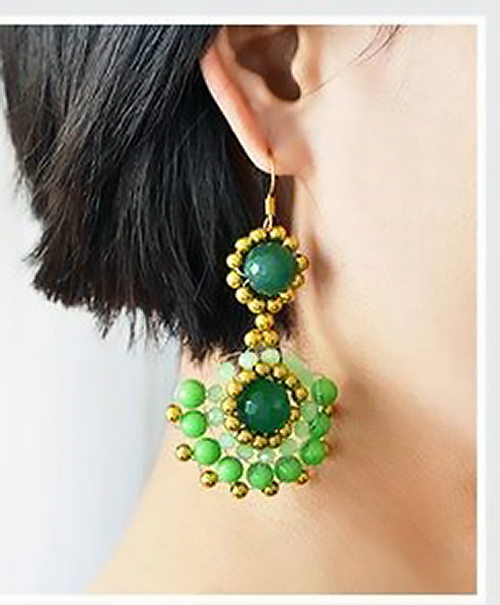 aretes earrings bisuteria jewelry handmade diy zarcillos how to make
