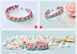 pulseras macrame bracelets DIY bisuteria jewelry