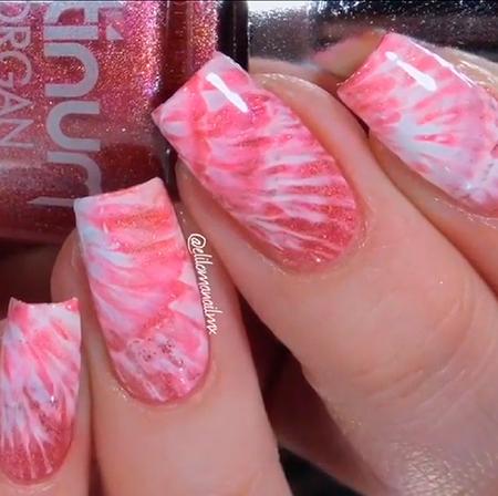 uñas nails art nailsart pink decoration