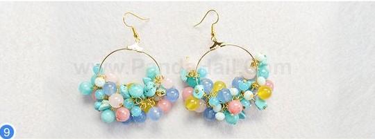 zarcillos aretes beads como hacer tutorial bisuteria jewelry how to make como hacer