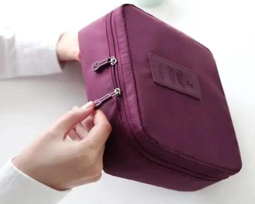 Waterproof Makeup Organizer Storage Bag Accessories Makeup Lookta Beauty View All