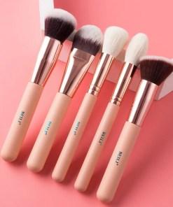 Matte Pink Makeup Brushes Set Makeup Lookta Beauty View All