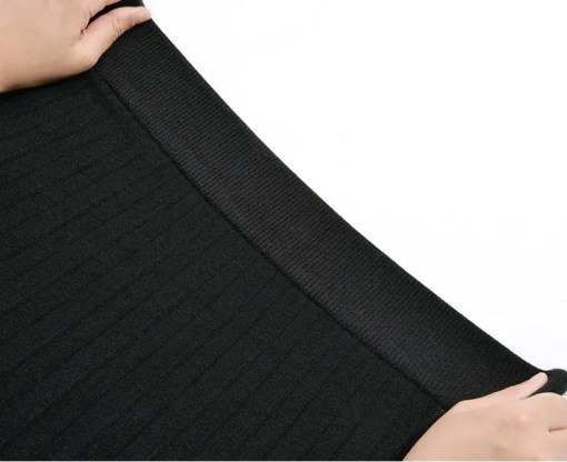 Luxury Long Knit Women A Line Pleated Skirt Women's Fashion View All Women's Clothing Skirt