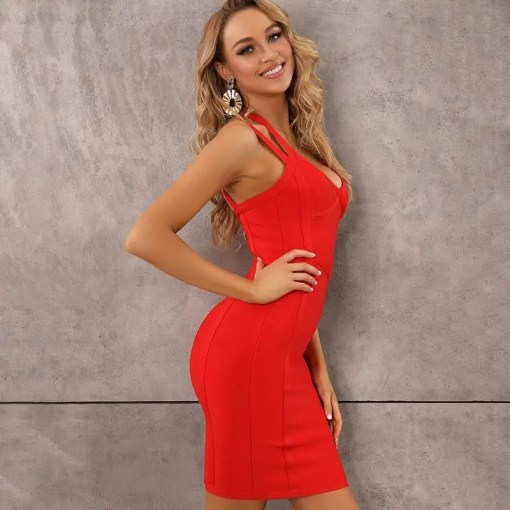Women Style V-Neck Backless Dress Women's Fashion View All Women's Clothing Dresses
