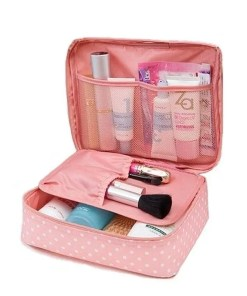 Waterproof Portable Cosmetic Organizer Bag Accessories Makeup Lookta Beauty View All