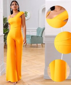 Women Two Pieces Short Sleeves Top Long Pants Set Women's Fashion View All Women's Clothing Dresses
