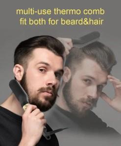 Multifunctional Beard Brush Hair Straightening Accessories Lookta Beauty View All