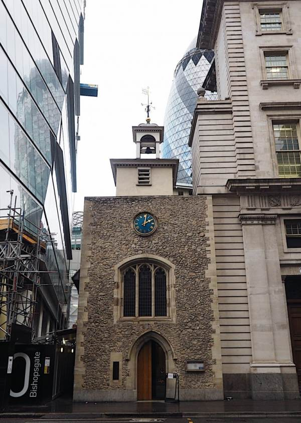 St Ethelburga's: Centre of Peace in Liverpool Street