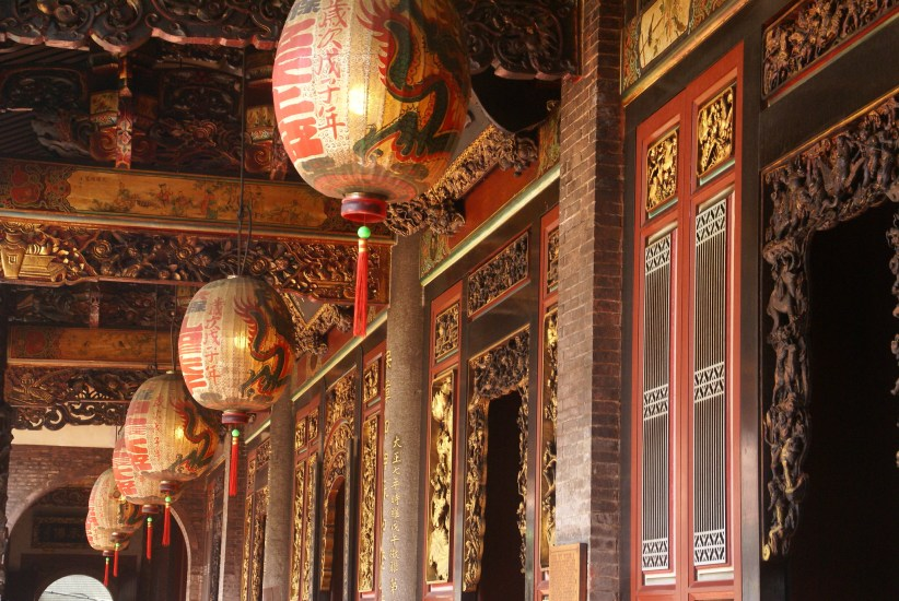 The temple is located in the Datong district and one of the most important tourist sites in Taipei.