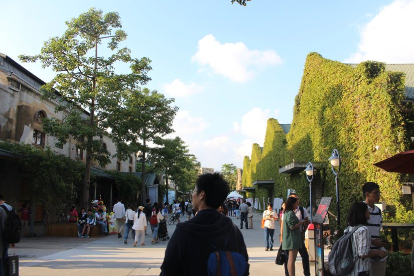 The Huashan 1914 Creative Park is one of the best places to visit in Taipei.