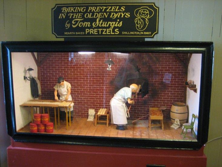 The Julius Sturgis Pretzel Bakery, Lititz