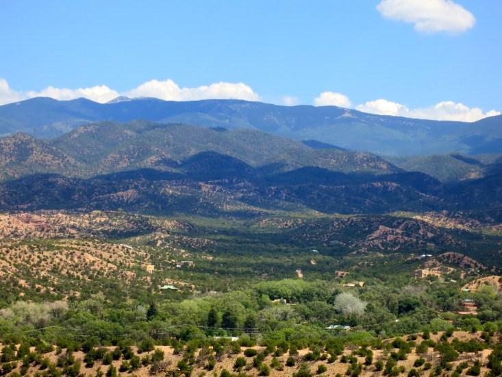 View from Santa Fe Opera
