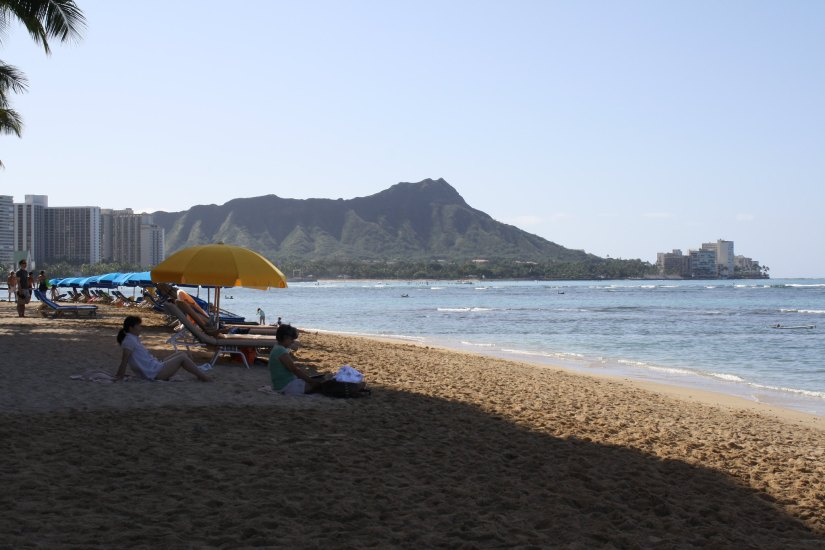 It is another very popular beach located in Waikiki.