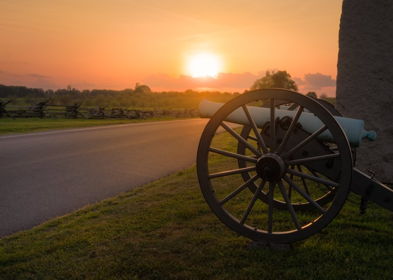 The park is managed by the National Park Service and is a must-visit place in Pennsylvania for anybody who is interested in history.