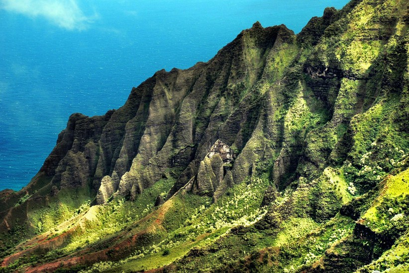 The Koke'e State Park is located along the Waimea Canyon and features some of the deepest points of the location in Hawaii.