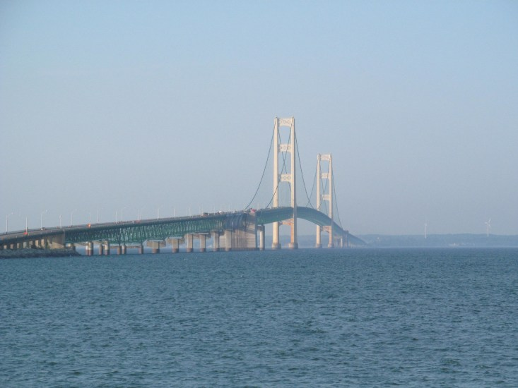 The Mackinac Bridge is one of the most famous markers of Michigan and is a must-visit place.