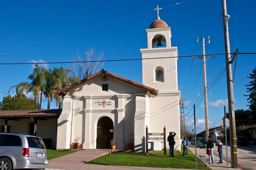 One must visit this historic location at  Mission Hill state park and is located near Downtown Santa Cruz California.
