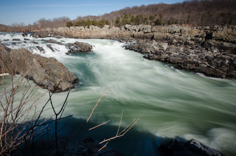 Great Falls Park is one of the major tourist destinations in McLean, VA.