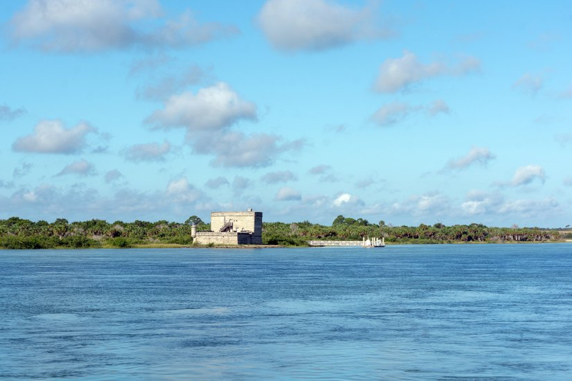 Castillo de San Marcos is known for being the oldest masonry fort in the United States and makes for one of the best places to visit in Northern Florida.