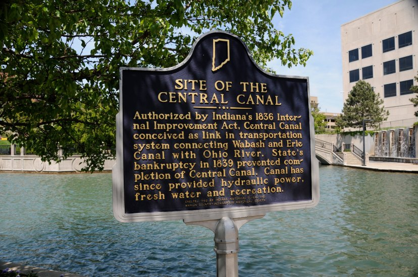 One of the best and most well known attractions of Indy, the central canal was used to bring goods to and from the city and runs through the White River State Park.