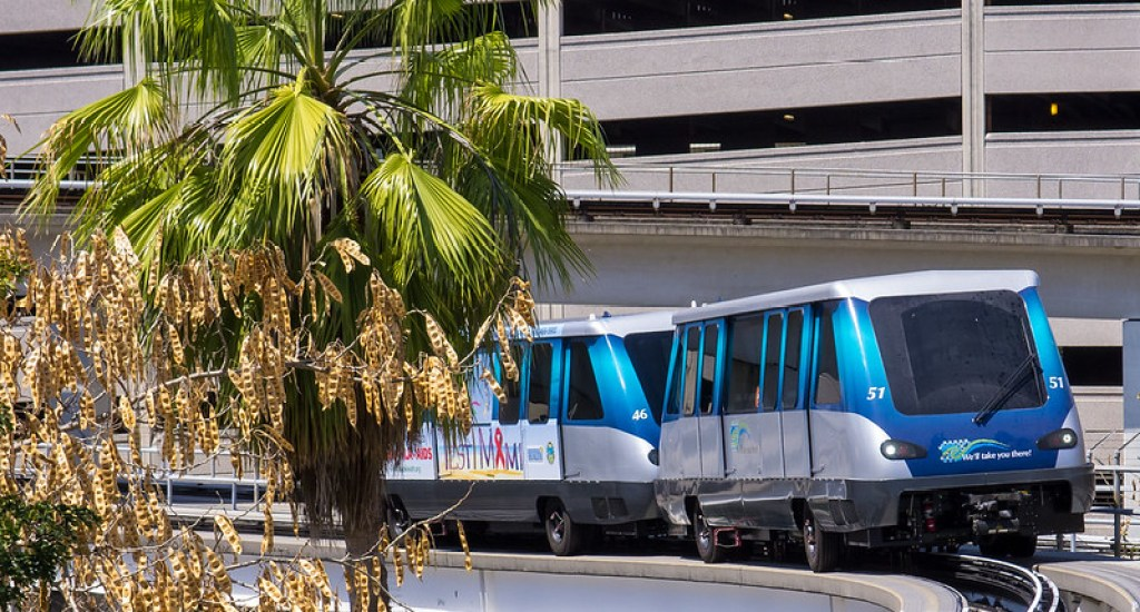 MetroMover, the commute of choice for Brickell Miami