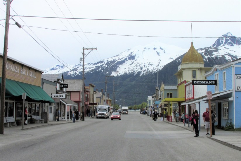 The downtown Skagway Historical District is part of the Klondike Gold Rush National Historic Park.