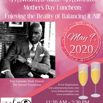 Hank Stewart_Mommies and Mimosas Luncheon Flyer