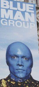 Blue Man Group at Venetian in Las Vegas