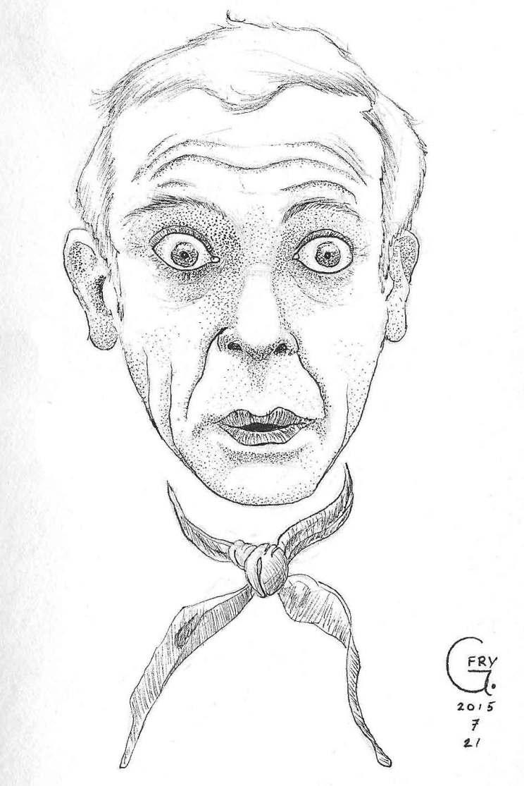 Don Knotts drawing