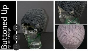 Buttoned Up Hat
