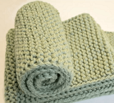 Easily Loom Knit A No Curl Scarf