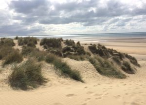 The dunes at Camber Sands