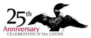 LFFC 25th Anniversary Logo :: The LOONS Flyfishing Club