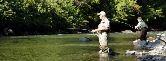 Wetting a line on the Skagit River :: The LOONS Flyfishing Club