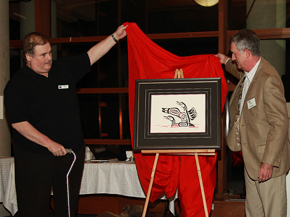 Unveiling 'Quivering' at LFFC 25th Anniversary Celebration :: The LOONS Flyfishing Club