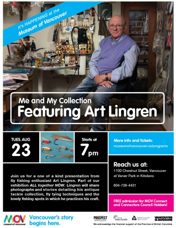 Me and My Collection featuring Art Lingren :: The LOONS Flyfishing Club