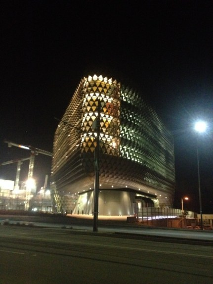 Hello Cheese grater, prickly pear and even the shingle back. Adelaide Research Building