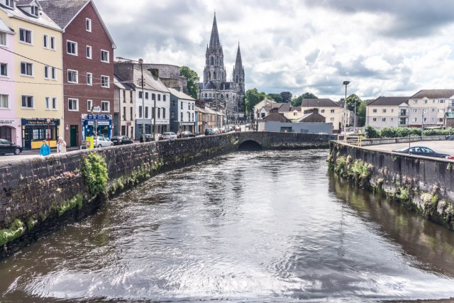 French's Quay as Viewed From South Gate Bridge (Cork City)